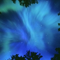 Northern Lights Or Aurora Borealis, Tilton Lake, Sudbury, Ontario, Canada. Photographic Print by Mike Grandmaison at Art.com