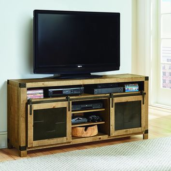 Mojo Rustic 64 Inch Console Driftwood
