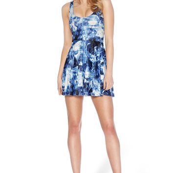 Dark Places Scoop Skater Dress - LIMITED