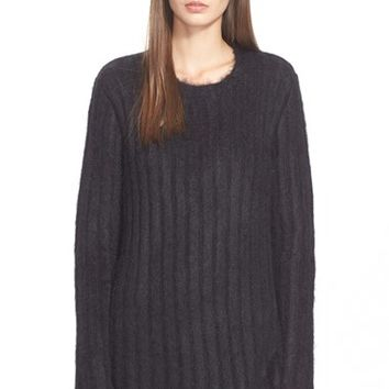 Women's N21 Sheer Back Rib Knit Sweater,