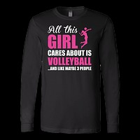 Volleyball Is My Life Long Sleeve T Shirt - TL00672LS