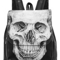 Restyle Human Skull Backpack | Attitude Clothing