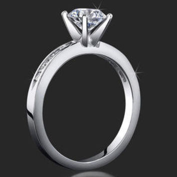 Engagement Rings -  .30 ctw. 14K Gold Diamond Engagement Ring
