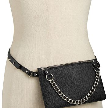 MICHAEL Michael Kors Belt Bag with Pull Chain
