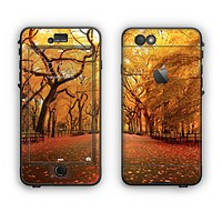 The Fall Back Road Apple iPhone 6 Plus LifeProof Nuud Case Skin Set