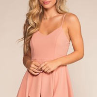 Sunday Drive Romper - Blush