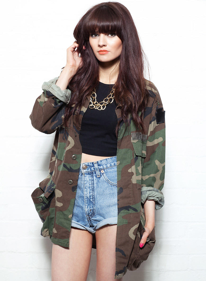 women 39 s us army camo jacket from. Black Bedroom Furniture Sets. Home Design Ideas