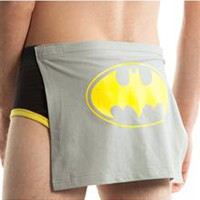 Batman Men's Brief with Detachable Cape