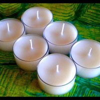 Tealight Candles - Set Of 6 - Unscented | Luulla