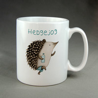 Hedgehog Mug, Tea Mug, Coffee Mug