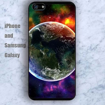 Scientific planet iPhone 5/5S case Ipod Silicone plastic Phone cover Waterproof