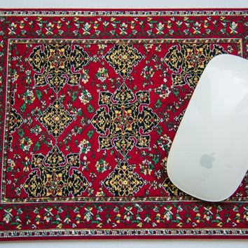 Metropolitan Museum of Art Star Ushak Rug Mouse Pad