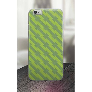 65 MCMLXV Green Barbed Wire Print iPhone Case