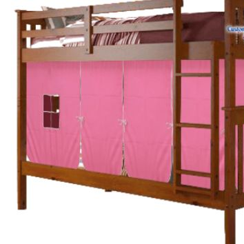 Lucy Espresso Bunk Bed for Girls