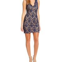 Jodi Kristopher Two-Tone Scalloped Lace Tank Dress | Dillards