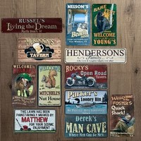 Rustic Metal Signs