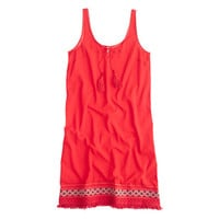 J.Crew Womens Embroidered Beach Dress