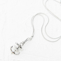 Vivienne Westwood Ceto Anchor Necklace in Silver - Urban Outfitters