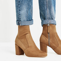 ELASTIC HIGH HEEL ANKLE BOOTS - View all-SHOES-WOMAN | ZARA United Kingdom
