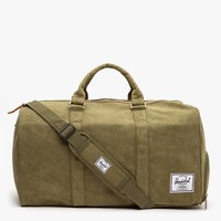 Herschel Supply Co. / Cotton Canvas Novel In Washed Army