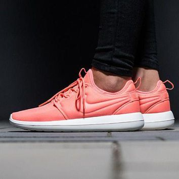 ONETOW NIKE ROSHE TWO Women Casual Running Sport Sneakers Shoes Pink