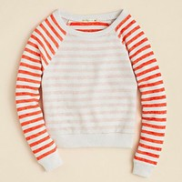ALTERNATIVE Apparel Girls' Raglan Stripe Sweatshirt - Sizes S-XL | Bloomingdale's