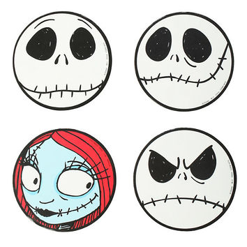 Nightmare before christmas bathroom decor - The Nightmare Before Christmas Coaster 4 From Hot Topic