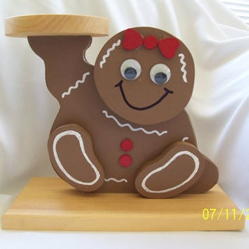 Holiday Gingerbread Centerpiece