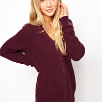 ASOS | ASOS Cardigan With Top Pocket at ASOS