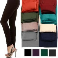 Fleece Lined Leggings - Multiple Options