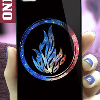 Divergent dauntless the brave MJ7 design for iPhone 4/4s, iPhone 5/5s/5c, Samsung Galaxy S3/S4 Case