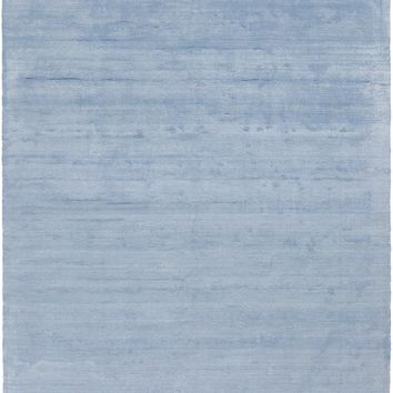 Surya Pure PUR3001 Blue Solids and Borders Area Rug