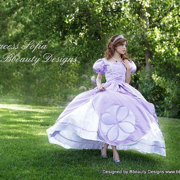 Sofia the First Princess Inspired Dress Gown  Adult by Bbeauty79