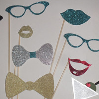 MINI NEW YEARS photo booth props 2014 fast shipping