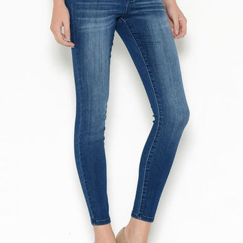 Cello Dark Denim Skinny Jeans