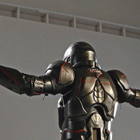The Carbon-Fiber Gladiator Suit