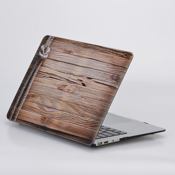 Wood Grain Hard Cover Case for Macbook Pro 13 A1278 Frosted Matte Laptop Shell Coque for Mac Book Pro 13 15 with Retina Display