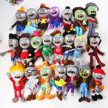 27  Styles Plants vs Zombies Plush Toys 30cm Plants vs Zombies Soft Stuffed Plush Toys Doll Baby Toy for Kids Gifts Party Toys