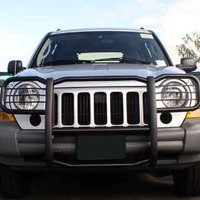 Jeep Liberty 05-07 Jeep Liberty Modular Gg, Black, 2&4Wd Grille Guards & Bull Bars Stainless Products Performance 2005,2006,2007