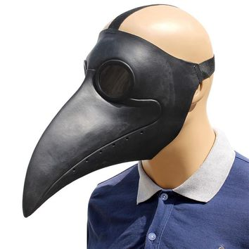 Funny The Doctor Animal Party Mask Punk Birds Long Nose Beak Latex Steampunk Halloween Costume Props Cosplay Bar Fancy Dress