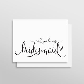 Will You Be My Bridesmaid // Fanciful Style
