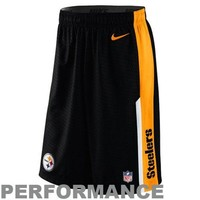 Nike Pittsburgh Steelers Dri-FIT Speed Fly XL Performance Shorts - Black