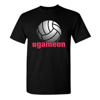 Image Sport Game On Volleyball T-Shirt