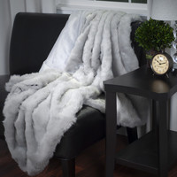 Lavish Home Faux Fur Throw Blanket You'll Love | Wayfair