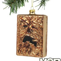 Evil Dead 2 Necronomicon Glass Ornament