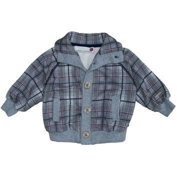Hitch-Hiker By Monnalisa - Baby Boys Jacket, Grey - 12M