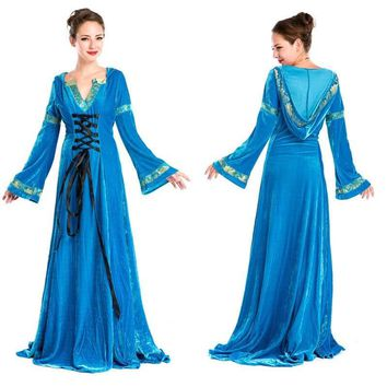 Women Renaissance Victorian Dress Costume Ball Gown - Free Shipping