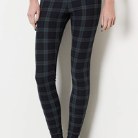 Tall Blackwatch Check Leggings