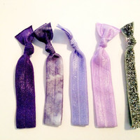 Royal Collection Set of 5 Softies tie dye glitter hair by Opus19
