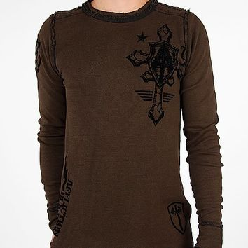 Affliction Do It Again Reversible Thermal Shirt